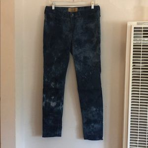 Levi's Made & Crafted Indigo Empire Cropped Jeans